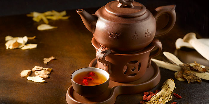 Tea from Kai Garden (Marina Square) in City Hall, Singapore