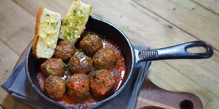 Meatballs from Bar·Celona in Duxton Hill, Singapore