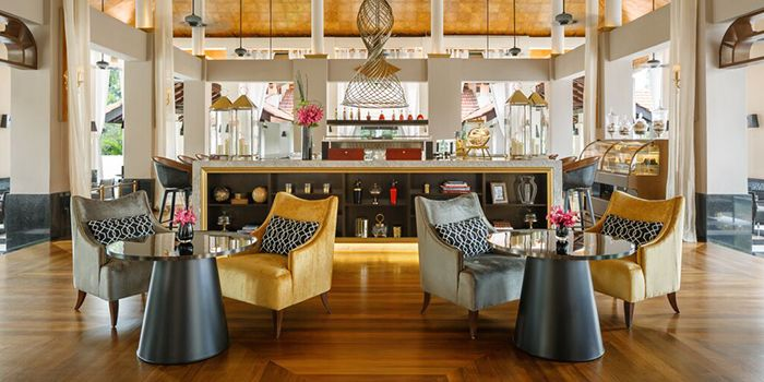 Dining Room of LeBar at Sofitel Singapore Sentosa Resort & Spa in Sentosa, Singapore