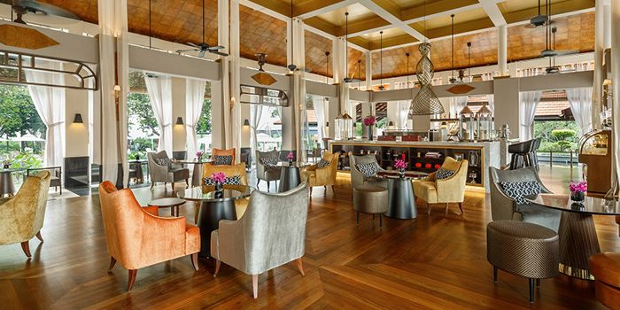 Interior of LeBar at Sofitel Singapore Sentosa Resort & Spa in Sentosa, Singapore