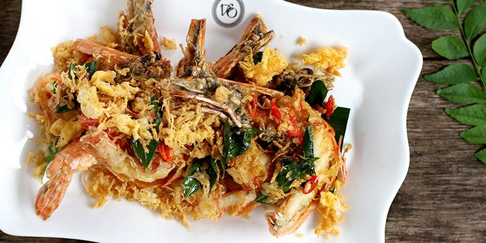 Butter Prawns from National Kitchen by Violet Oon in City Hall, Singapore
