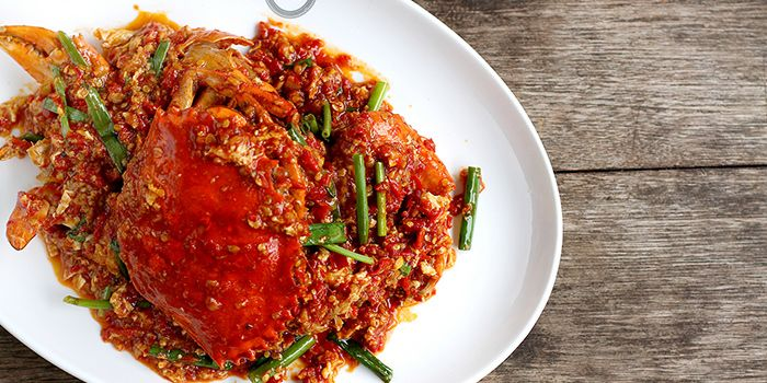 Chilli Crab from National Kitchen by Violet Oon in City Hall, Singapore