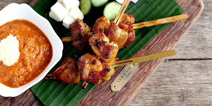Satay from from National Kitchen by Violet Oon in City Hall, Singapore