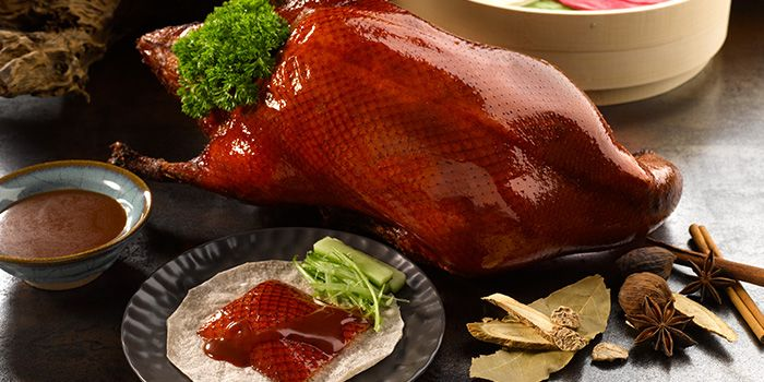 Peking Duck from Kai Garden (Marina Square) in City Hall, Singapore