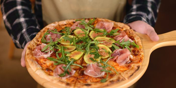 Proscuitto and Fig Pizza, The Point, Causeway Bay, Hong Kong