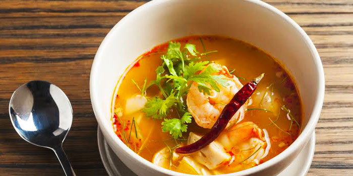 Shrimp Soup from Metro on Wireless at Hotel Indigo Bangkok on Wireless Road, Bangkok