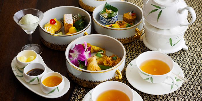 Signature Thai Afternoon Tea from Authors