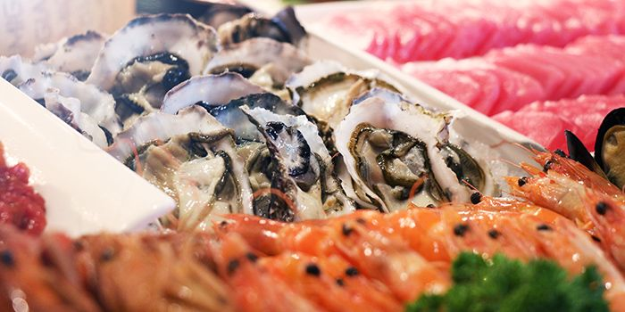 Oyster Buffet from The Square Restaurant in Novotel Singapore Clarke Quay, in Clarke Quay, Singapore