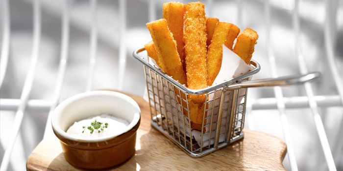 Truffle Polenta Fries  from Aqua Luna in Park Hotel Alexandra at Queenstown, Singapore