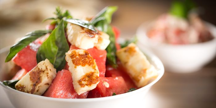 Watermelon & Halloumi Salad, Awtar, Central, Hong Kong