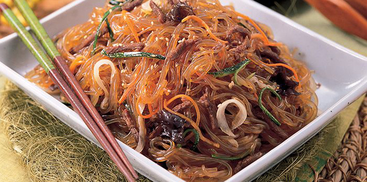 Jap Chae from Bornga (Suntec City) in Promenade, Singapore