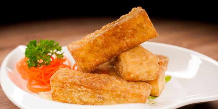 Fried Tofu from Legacy Seafood in Jurong East, Singapore