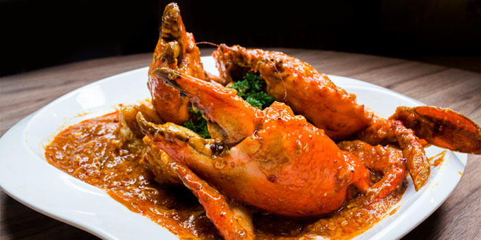 Chilli Crab from Legacy Seafood in Jurong East, Singapore