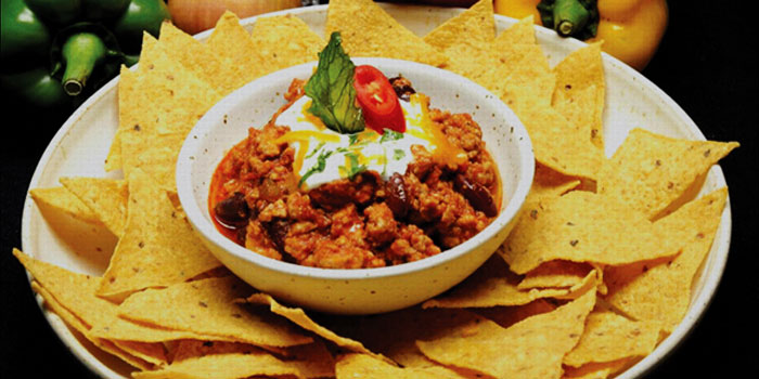 Chili Con Carne from The Mexican - Cantina and Comedor at Rajah Hotel Complex Suhumvit Soi 2, Bangkok