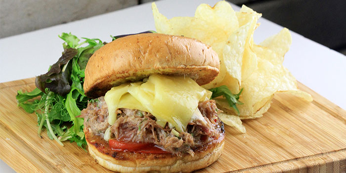 Duck Rilette Burger from Two Blur Guys in Tanjong Pagar, Singapore
