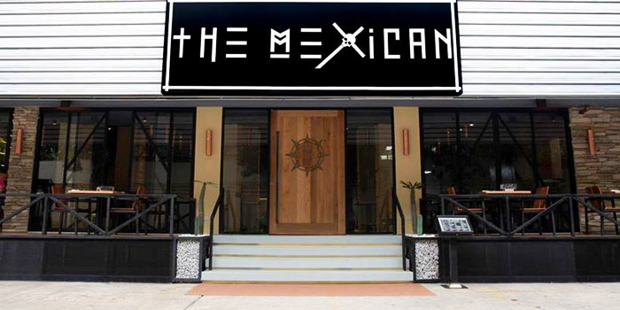 Exterior of The Mexican - Cantina and Comedor at Rajah Hotel Complex Suhumvit Soi 2, Bangkok