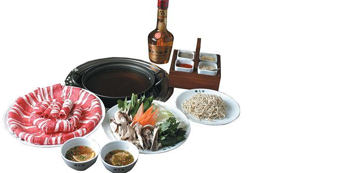 Food Spread from Hyang-To-Gol Korean BBQ in Tanjong Pagar, Singapore