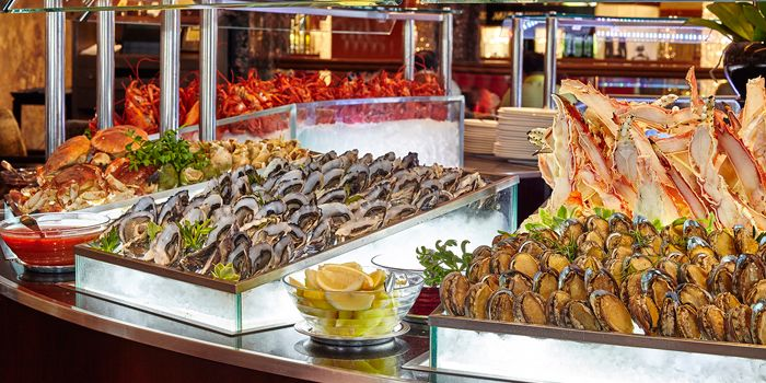 Fresh Seafood Buffet, Clipper Lounge, Central, Hong Kong