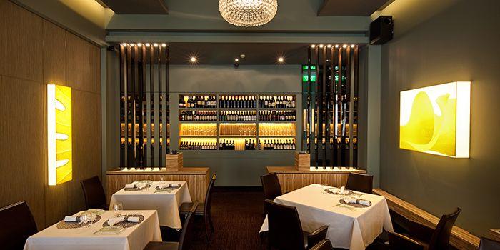 Dining Area of Garibaldi Italian Restaurant & Bar in Bugis, Singapore