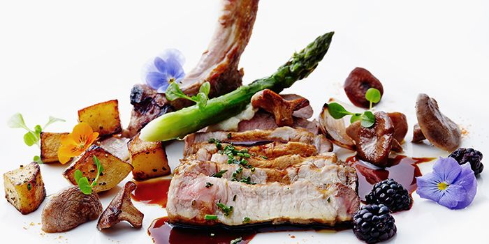 Pork Belly with Vegetables from Garibaldi Italian Restaurant & Bar in Bugis, Singapore