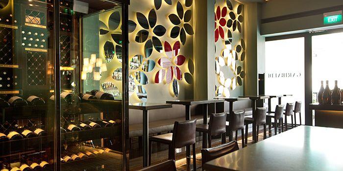 Wine Selection of Garibaldi Italian Restaurant & Bar in Bugis, Singapore