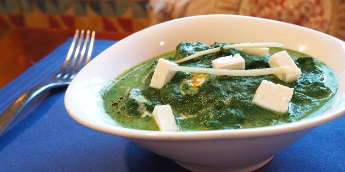 Indian Masala with Cottage Cheese and Spinach, Bacco, Sai Kung, Hong Kong