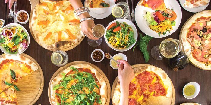 Pizzas, Sole Mio, Central, Hong Kong