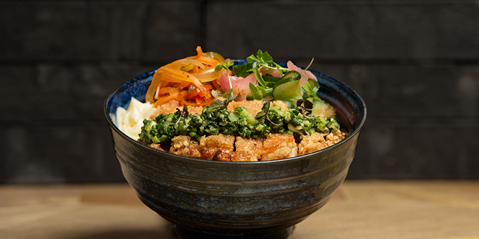 Chicken Rice Donburi from The Populus Coffee & Food Co. in Tanjong Pagar, Singapore
