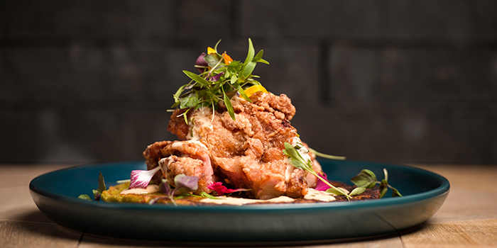 Fried Chicken from The Populus Coffee & Food Co. in Tanjong Pagar, Singapore