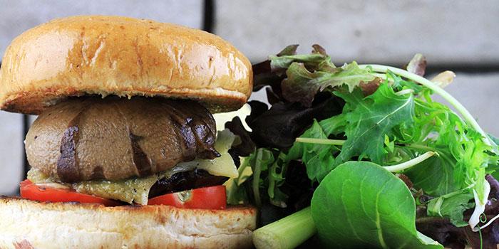 Portobello Mushroom Burger from Two Blur Guys in Tanjong Pagar, Singapore