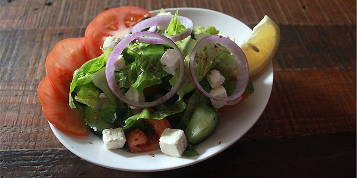 Greek Salad from Qasr Grille & Mezze Bar in Holland Village, Singapore