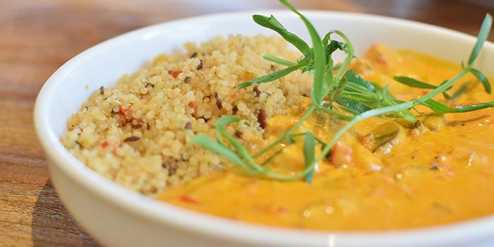 Red Curry Vegetable Quinoa,  Food Lab, Shatin, Hong Kong