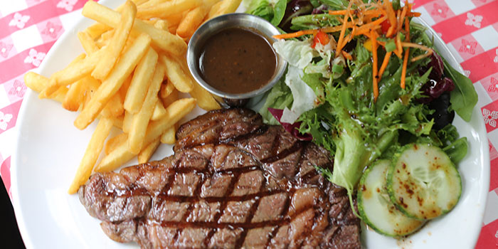 Ribeye Steak from Smokey