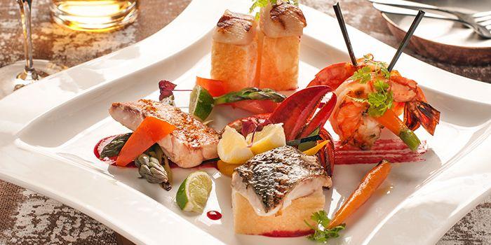 Grigliata Di Pesce from Waterfall Ristorante Italiano in Shangri-La Hotel at Tanglin, Singapore