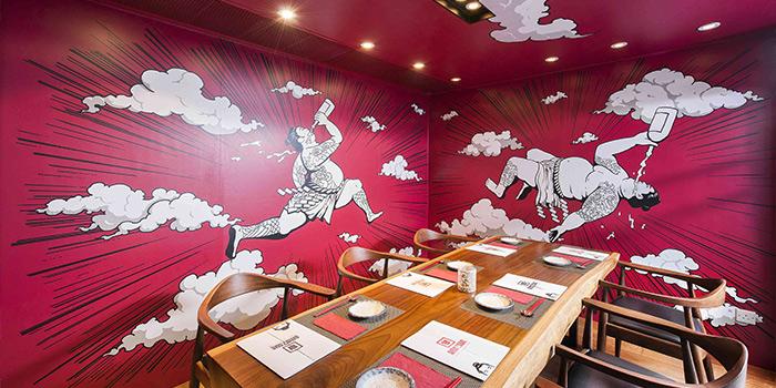 VIP Dining Area of AMAZAKE, Central, Hong Kong