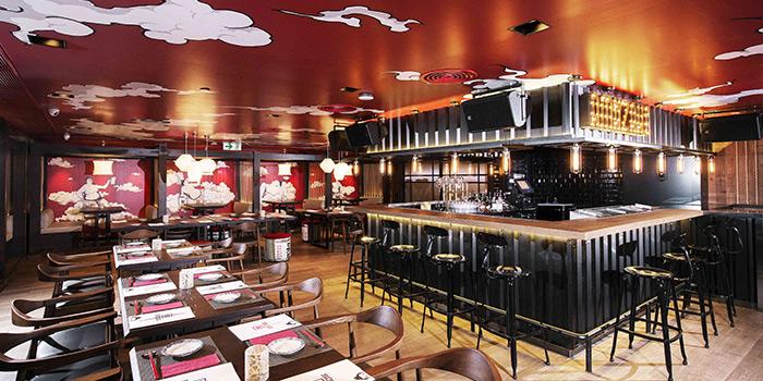 Dining Area of AMAZAKE, Central, Hong Kong