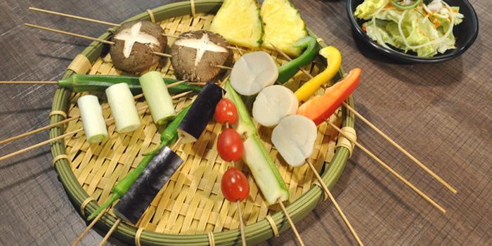 BBQ Vegetables Mixed, Volcano Grill, Causeway Bay, Hong Kong