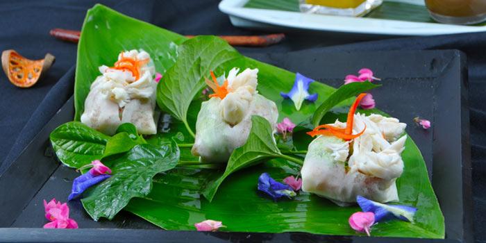 Chicken Dish form Celadon at The Sukhothai Bangkok in Sathorn, Bangkok