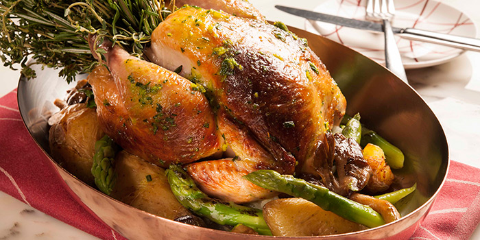 Herb Roasted Organic Chicken from db Bistro & Oyster Bar in The Shoppes at Marina Bay Sands, Singapore