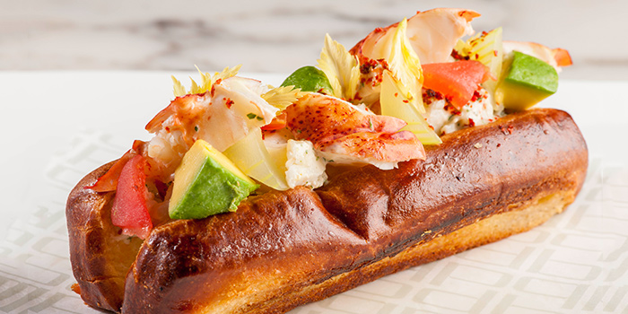 Lobster Roll from db Bistro & Oyster Bar in The Shoppes at Marina Bay Sands, Singapore