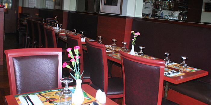 Dining Area of Central Indian Restaurant, Sheung Wan, Hong Kong