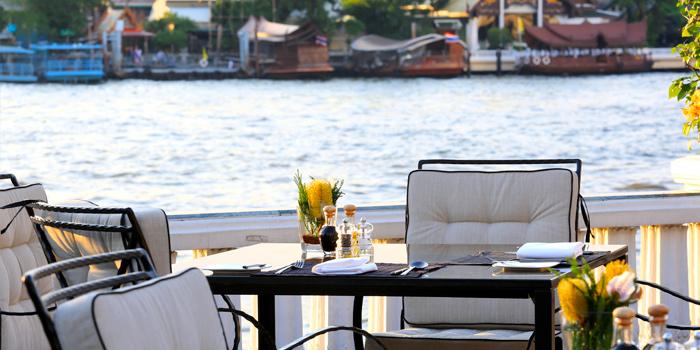 Dining Table from Ciao Terrazza at at the Mandarin Oriental, Bangkok