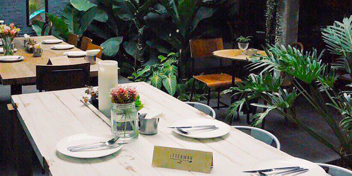 Dining Table from Bitterman Handcrafted Cuisine in Silom, Bangkok