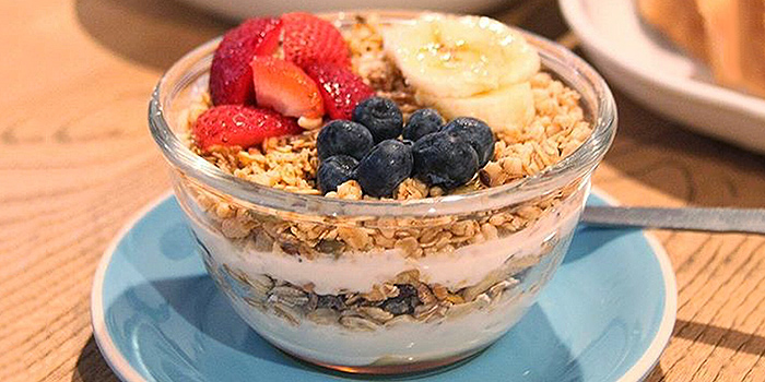 Granola Bowl from Group Therapy Coffee in Duxton, Singapore