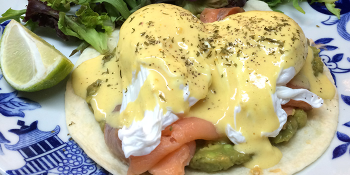 Skinny Eggs Benedict from Group Therapy Coffee in Duxton, Singapore