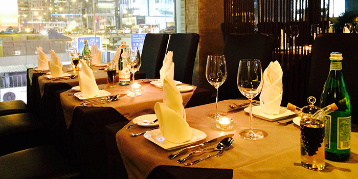 Dining Area of E Molto Buono, Causeway Bay, Hong Kong