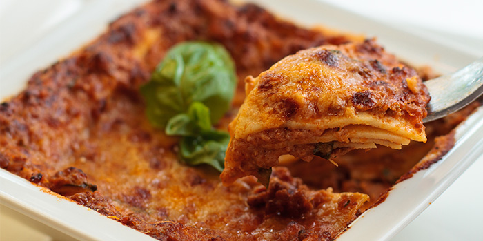 Lasagne from La Barca Ristorante & Wine Bar in Mountbatten, Singapore