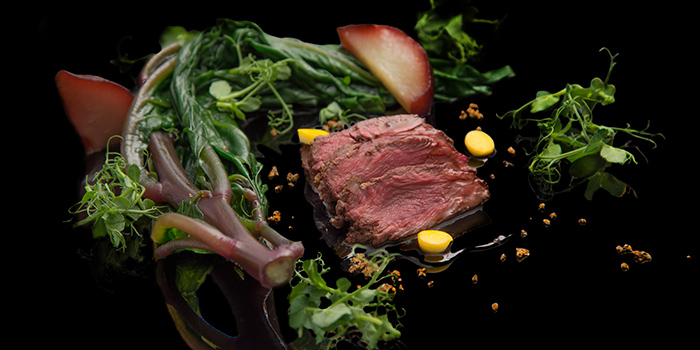 Beef Dish from NOX - Dine in the Dark in Bugis, Singapore