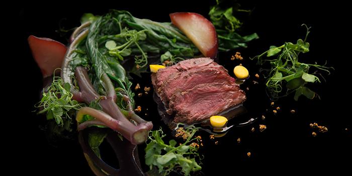 Beef Dish from NOX - Dine in the Dark in Bugis, Singapore