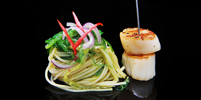 Scallops from NOX - Dine in the Dark in Bugis, Singapore